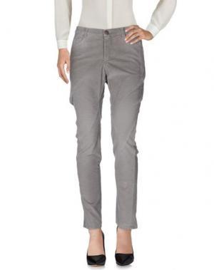 Повседневные брюки MICHIKO KOSHINO. Цвет: серый