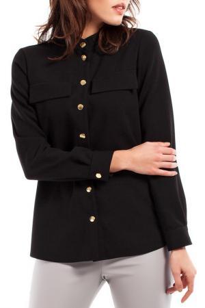 Рубашка BeWear. Цвет: черный