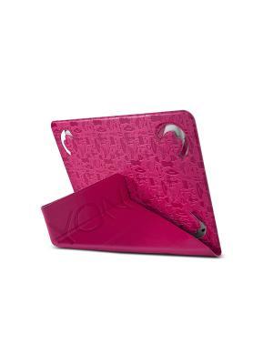 Чехол, Life is универсальный для планшета 7 CANYON. Цвет: розовый