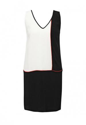 Платье Incity. Цвет: черно-белый