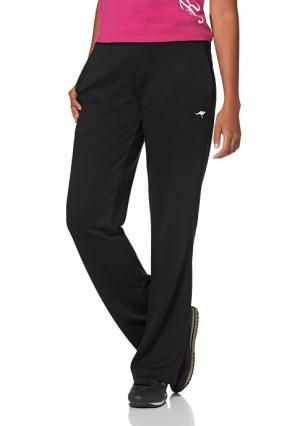 Спортивные брюки Kangaroos. Цвет: черный