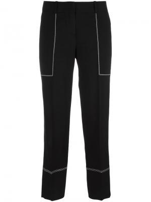Широкие брюки Ermanno Scervino. Цвет: белый
