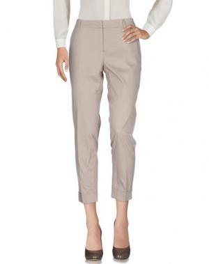 Повседневные брюки -A-. Цвет: бежевый