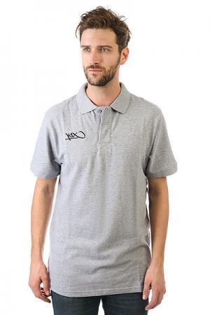 Поло  Hardwood Coaching Polo Grey K1X. Цвет: серый