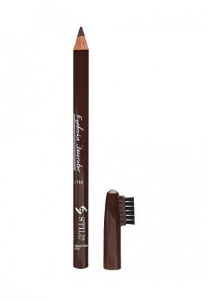 Карандаш для бровей Still. Цвет: коричневый