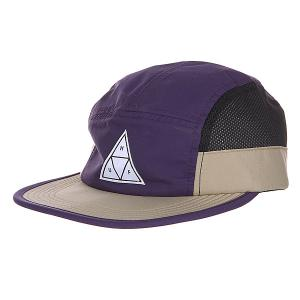 Бейсболка  Side Mesh Scout Volley Purple Huf. Цвет: фиолетовый,бежевый