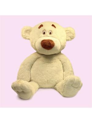 Мгка игрушка Медведь Сержик 2.190.1 цвет белый Malvina. Цвет: белый