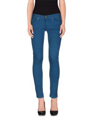 Повседневные брюки SWELL 65. Цвет: цвет морской волны