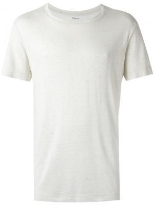 Round neck t-shirt Osklen. Цвет: белый