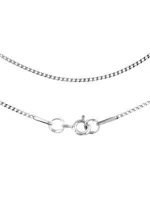 Цепочка Панцирь с алмазной огранкой Young Moon jewels. Цвет: серебристый