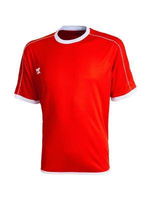 Футболка игровая Siena 2K. Цвет: красный, белый