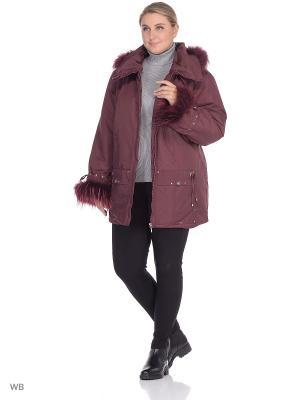Куртка Вика VIKO. Цвет: сливовый