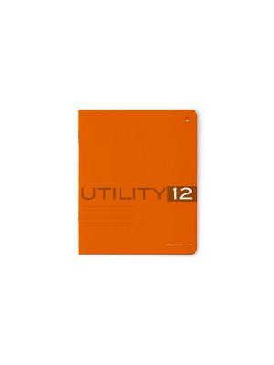 Тетрадь в клетку Utility, 12 листов, 10 шт. Альт. Цвет: синий