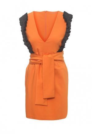 Платье Imperial. Цвет: оранжевый
