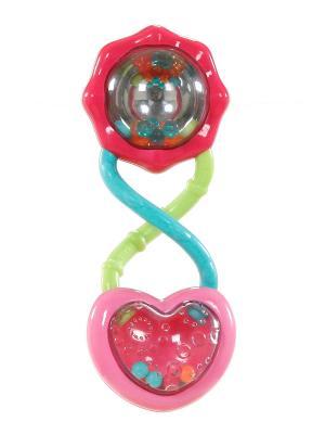 Развивающая игрушка Розовый калейдоскоп BRIGHT STARTS. Цвет: красный, розовый