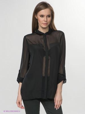 Блузка Jeanswest. Цвет: черный
