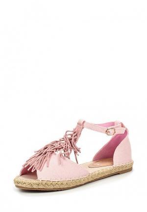 Сандалии Stephan. Цвет: розовый