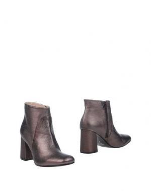 Полусапоги и высокие ботинки ELIANA BUCCI. Цвет: свинцово-серый