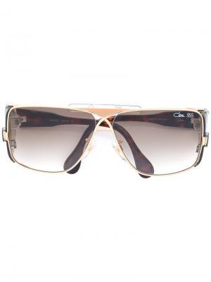 Солнцезащитные очки с градиентными стеклами Cazal. Цвет: коричневый