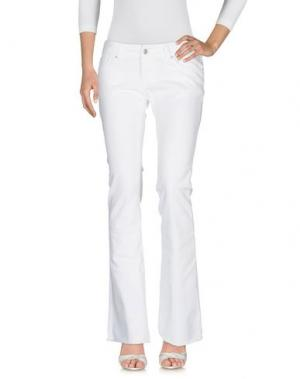 Джинсовые брюки CIMARRON. Цвет: белый
