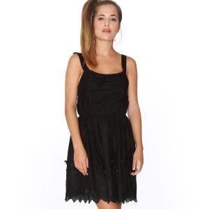 Платье без рукавов с открытой спинкой , Dress Isabel PEPALOVES. Цвет: черный