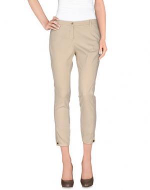 Повседневные брюки 19.70 NINETEEN SEVENTY. Цвет: бежевый