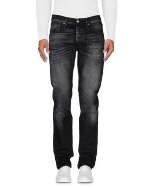 Джинсовые брюки COVERT. Цвет: серый