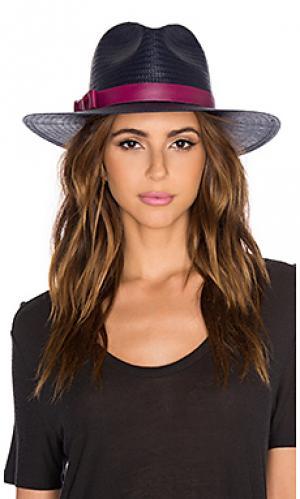 Шляпа demi KIN/K. Цвет: синий