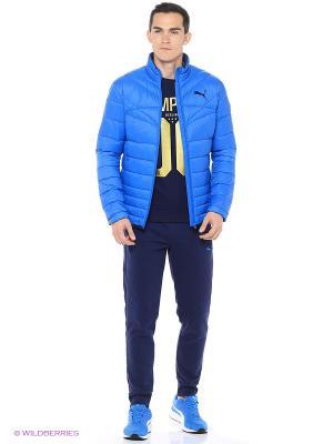 Куртка ACTIVE 600 PackLITE Down Jkt Puma. Цвет: голубой