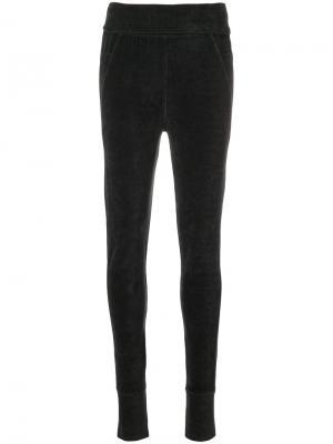 Текстурные брюки скинни Humanoid. Цвет: серый