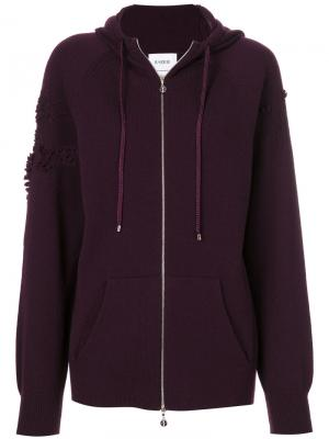 Knitted hoodie Barrie. Цвет: красный