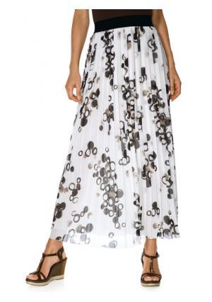 Плиссированная юбка PATRIZIA DINI. Цвет: цветной
