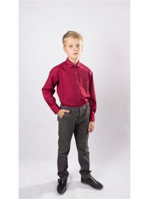 Рубашка OZORNIK. Цвет: бордовый
