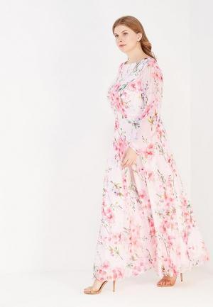 Платье Irina Vladi. Цвет: розовый