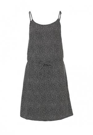 Платье Vero Moda. Цвет: черно-белый