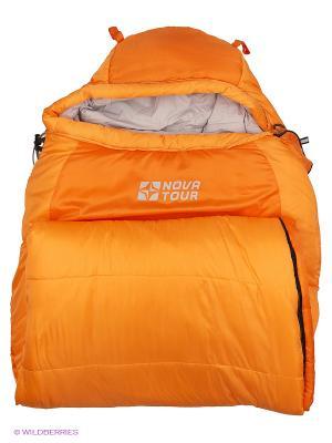 Спальный мешок Сибирь -20 V2 Nova tour. Цвет: оранжевый