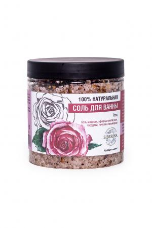 Соль для ванны «Роза» SIBERINA