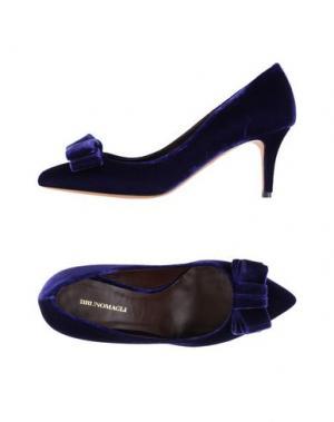 Туфли BRUNO MAGLI. Цвет: темно-фиолетовый