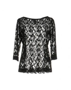 Блузка PIU' &. Цвет: черный