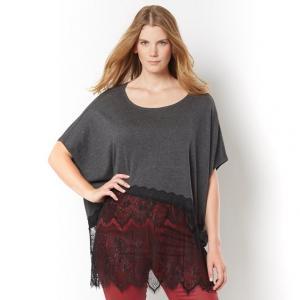 Пуловер TAILLISSIME. Цвет: серый меланж