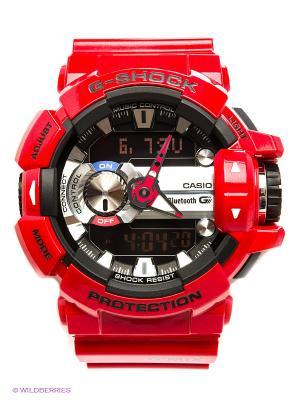 Часы G-SHOCK GBA-400-4A CASIO. Цвет: красный
