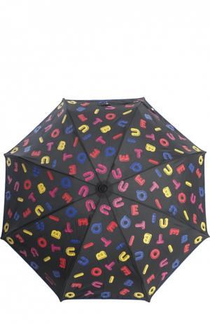 Зонт Moschino. Цвет: черный