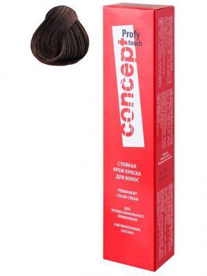 Concept 33262 Стойкая крем краска для волос Permanent color 5.7 Горький шоколад (Dark Chocolate) 201. Цвет: темно-коричневый