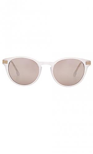 Солнцезащитные очки brentwood Steven Alan. Цвет: белый