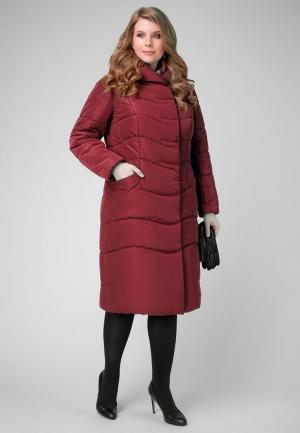 Куртка утепленная Electrastyle. Цвет: бордовый