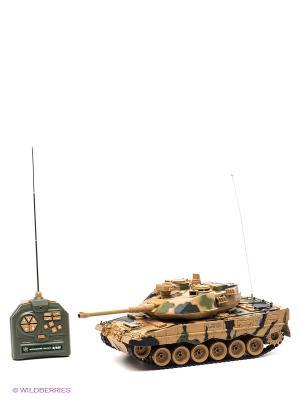 Танк Leopard2 Пламенный мотор. Цвет: бежевый, хаки