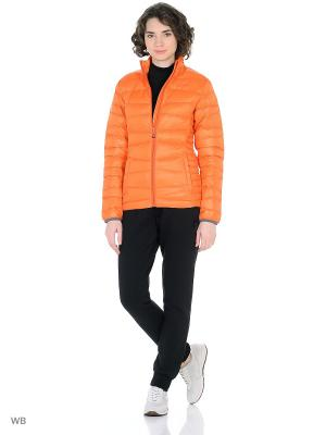 Куртка Guahoo. Цвет: оранжевый