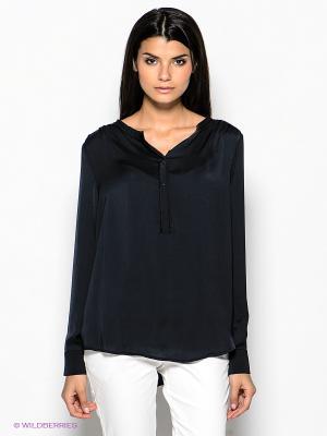 Блузка SELECTED. Цвет: черный