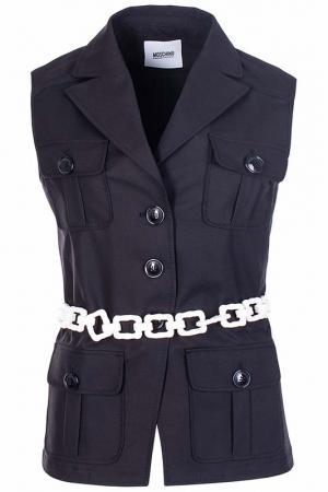 Пиджак Moschino Cheap & Chic. Цвет: черный