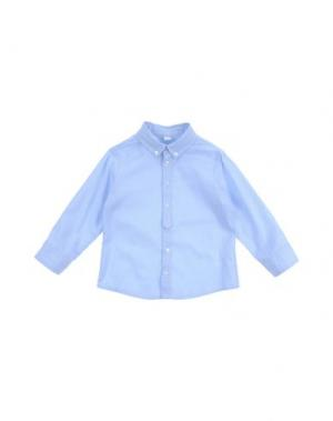 Рубашка с длинными рукавами AMORE. Цвет: небесно-голубой